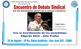 3º Encuentro de Debate Sindical