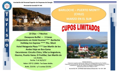 Marzo en el Sur - Bariloche - Puerto Montt