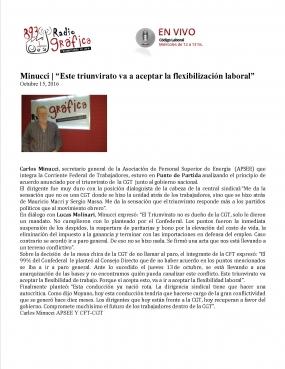 Reportaje Radio Gráfica